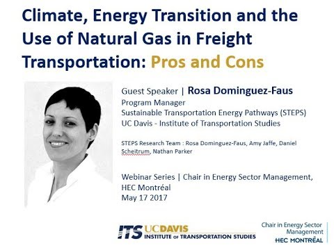 HEC ÉNERGIE | Climate and Use of Natural Gas in Transportation
