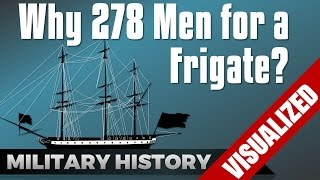 Why 278 Men for a Frigate? #Nelson's Navy