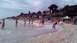Кирилловка. Центральный пляж 05.07.2015. г/д Алекс(, 2015-07-05T10:10:15.000Z)