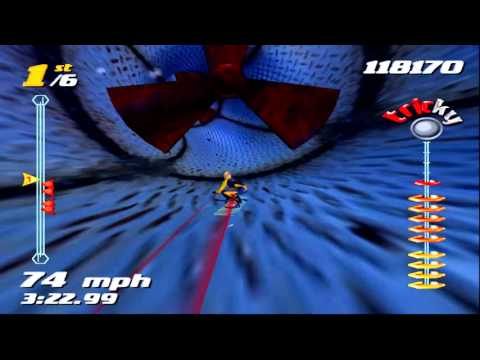 SSX Tricky - Elise World Circuit ~ Merqury City Race