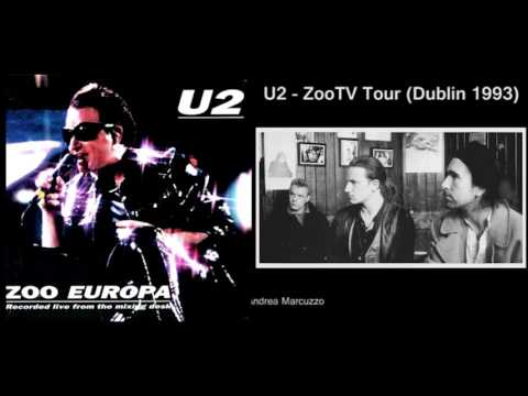 U2 Live in Dublin 1993 (ZooTv Tour) REMASTERED - HIGH QUALITY