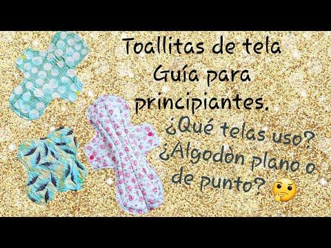 Toallitas De Tela: Guía Para Principiantes ¿Qué Telas Usar En ARGENTINA? ¿algodón Plano O De Punto?