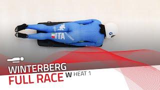 Winterberg | BMW IBSF World Cup 2020/2021 - Women's Skeleton Heat 1 | IBSF Official