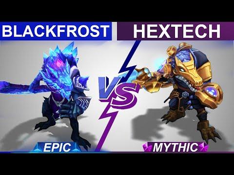 Blackfrost Renekton vs Hextech Renekton Skin Comparison | Which is Better? League of Legends