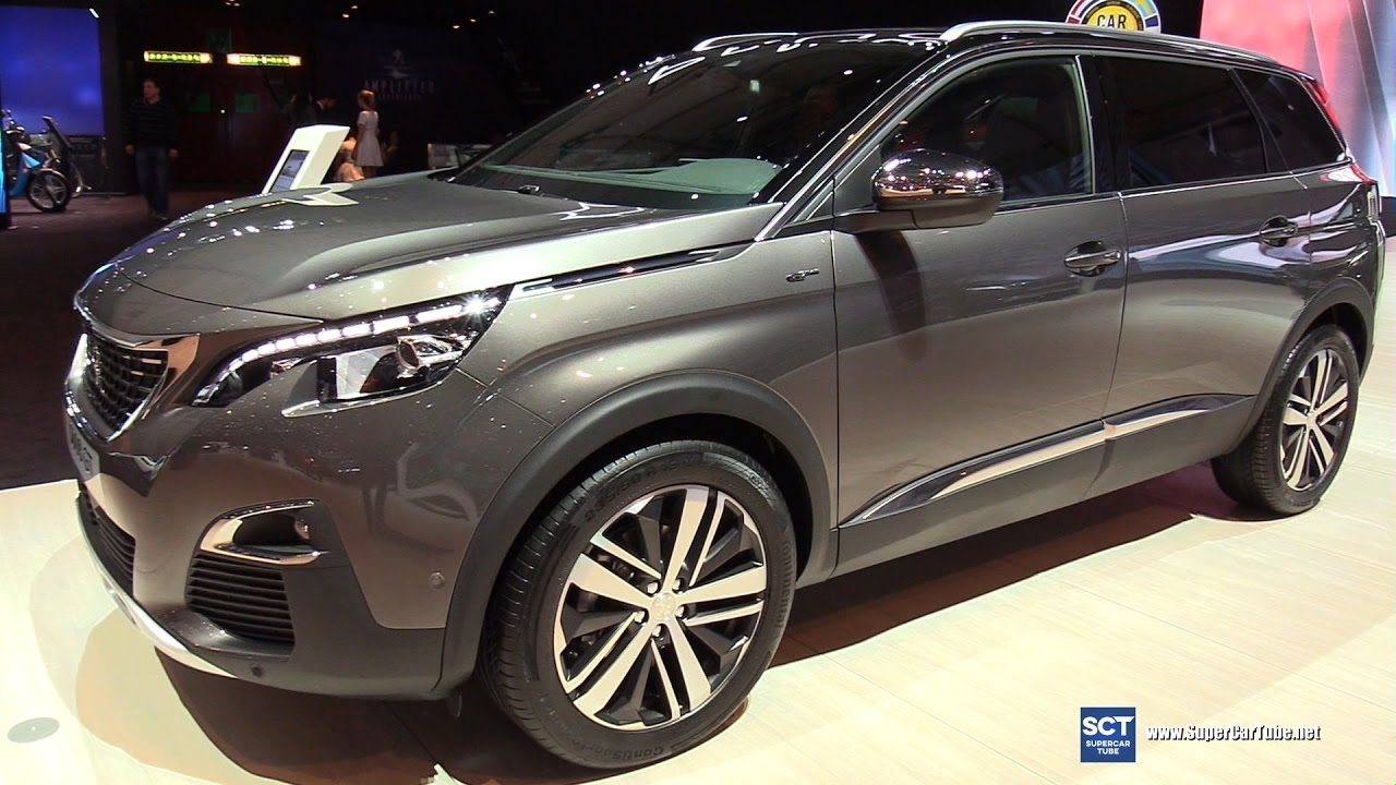2018 peugeot 5008 review. delighful 2018 2018 peugeot 5008 gt  exterior and interior walkaround debut 2017 geneva  motor show in peugeot review n