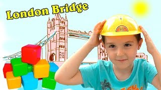 London Bridge Song | Nart pretend Play Nursery Rhymes & kids Songs