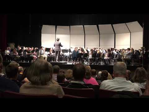 Celtic Air and Dance No. 2 - 2019 East Central Middle School District Band