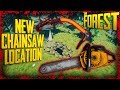 S1E11: New Chainsaw Location + The Climbing Axe! | The Forest