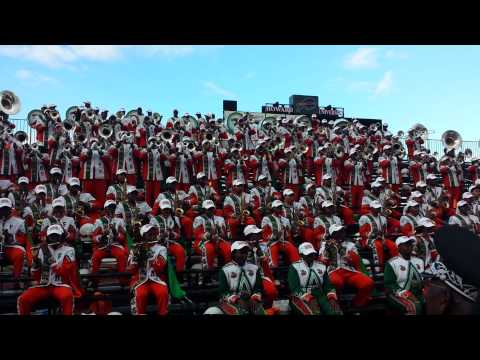 "Famu Marching 100 ""400 Degrees (James Bond)"""