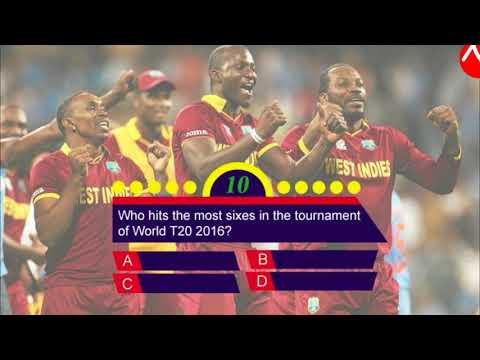 Cricket Quiz   Easy World Cup T20 2016 Quiz