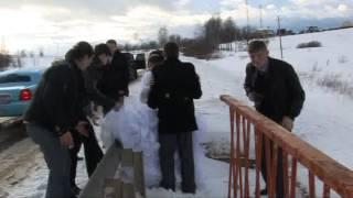 Свадебная прогулка Зима