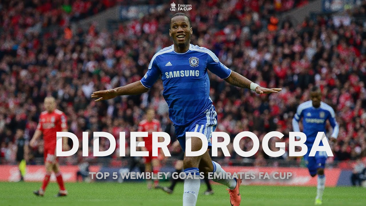 Didier Drogba's Top FIVE Wembley Goals In The Emirates FA Cup
