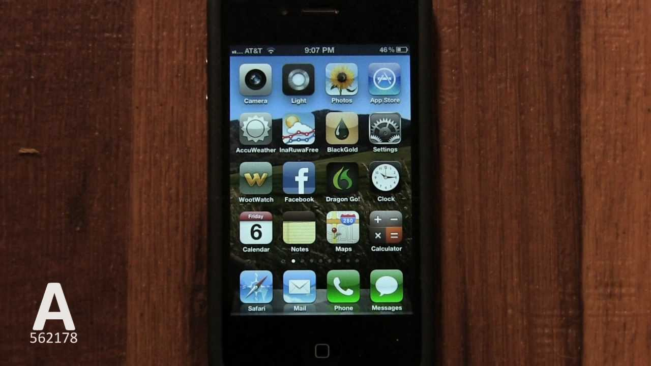 how to put ebooks,doc,pdf on iPhone 3gs,4,4s - YouTube