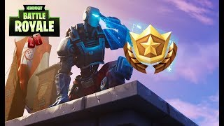SECRET BANNER/SECRET BANNER WEEK 8 SEASON 6 LOCATION! FORTNITE WEEK 8 BATTLE STAR