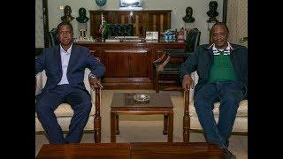 Uhuru, Zambia's Lungu hold talks to enhance trade, bilateral ties