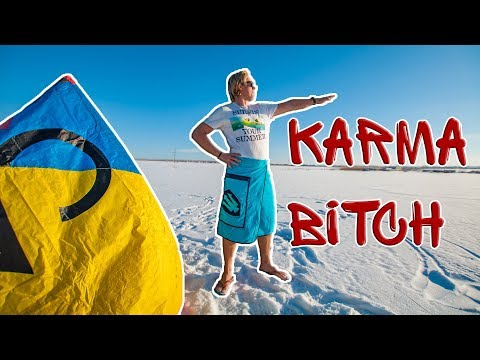Karma is a bitch | kite version of Ilich Production | Mauritius - Ufa