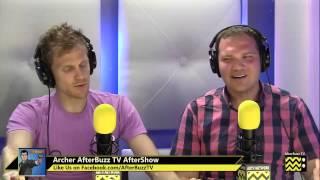 """Archer After Show w/ Tristan MacManus Season 4 Episode 10 """"Un Chien Tangerine""""   AfterBuzz TV"""