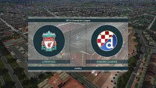 PES 2019 Champions League -Quarter final 2nd leg - Liverpool vs Dinamo Zagreb