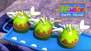 Monsters   Slime Cream Sundae   Kids Learn Math for Kids   Educational Cartoons
