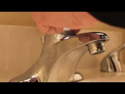 How to repair moen bathroom faucet dripping water   cartridge
