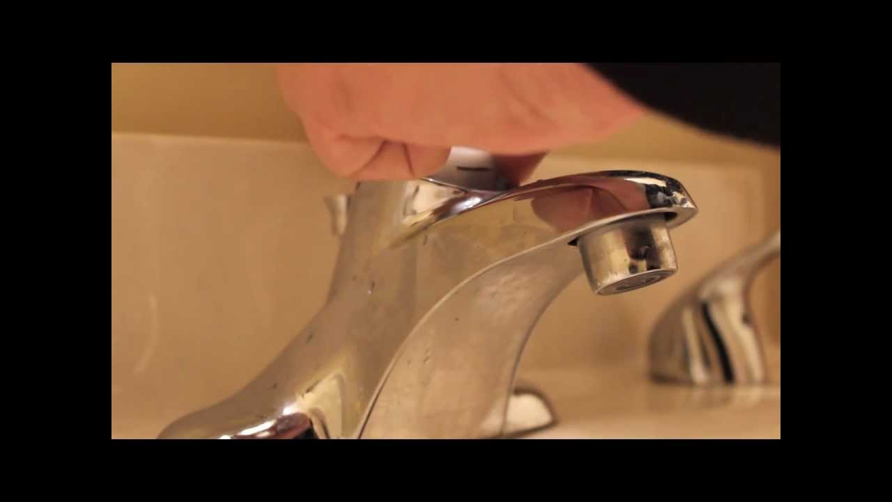 Moen Bathroom Sink Faucet How To Repair Moen Bathroom Faucet Dripping Water Cartridge Removal Replace Single Lever