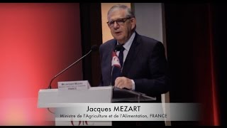 M Jacques MEZART, Ministre de l'Agriculture et de l'Alimentation