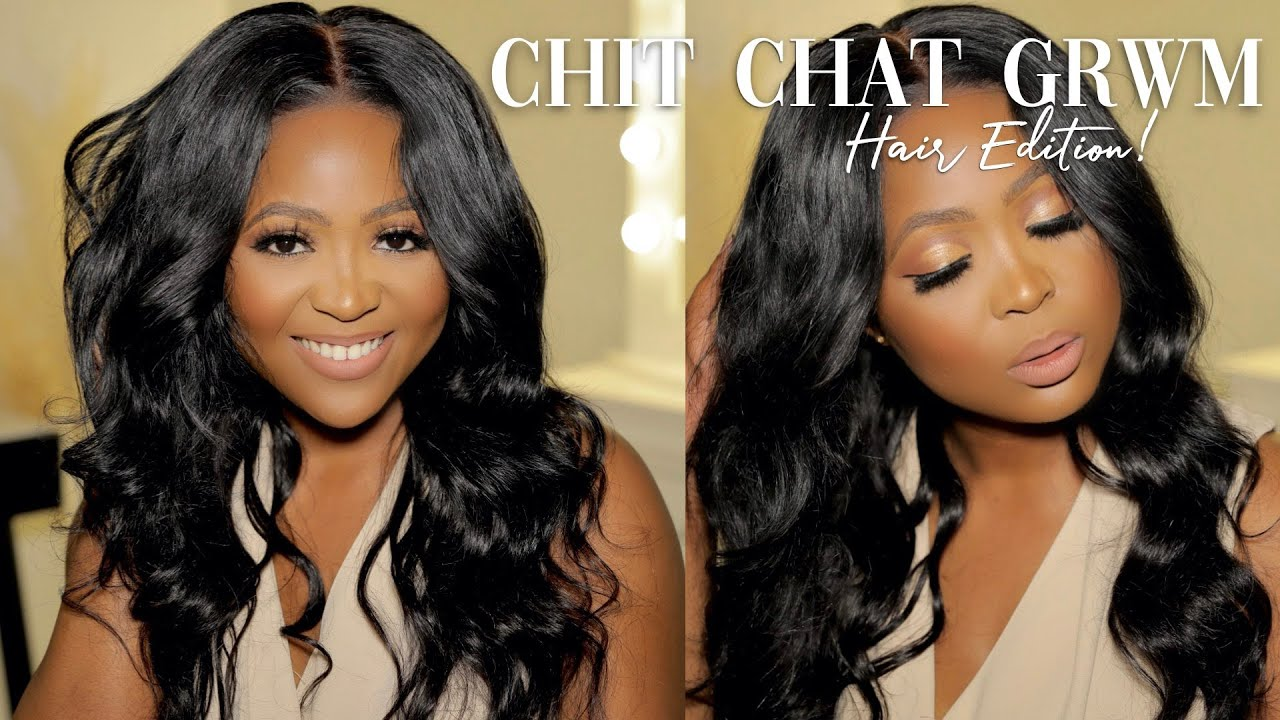 CHIT CHAT GRWM: Hair Edition | Confidence with ACNE??? Self-Discipline? | ft ALLOVE HAIR