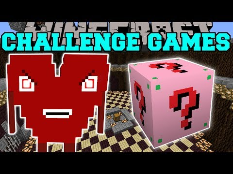 Minecraft: EVIL CUTIE CHALLENGE GAMES - Lucky Block Mod - Modded Mini-Game