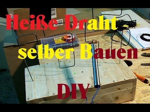 bastelideen basteltipps hei er draht selber bauen diy youtube. Black Bedroom Furniture Sets. Home Design Ideas