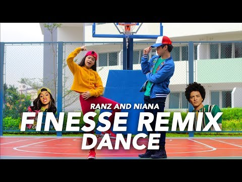 FINESSE (Remix) - Bruno Mars ft Cardi B Dance | Ranz and Niana