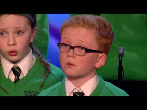 Irish St. Patrick Choir With FLAWLESS Performance | Auditions 3 | Britain's Got Talent 2017