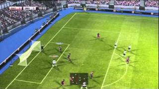 Pro Evolution Soccer 2011 PS3 Demo Gameplay HD Game 01 P1