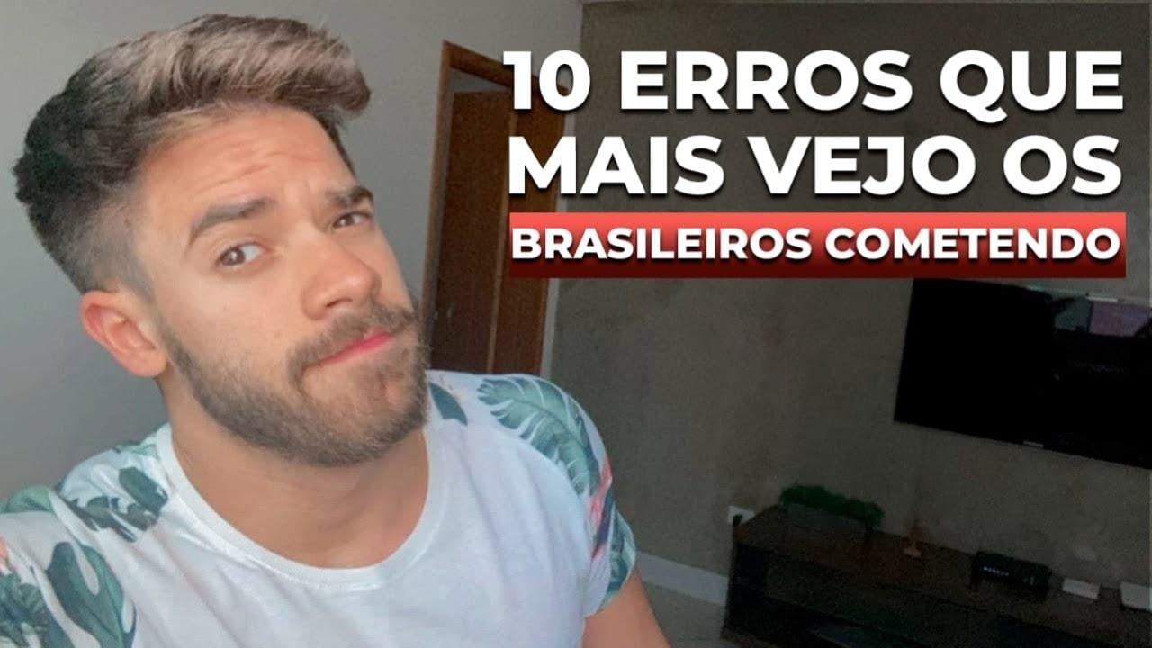 Download #Live 049 - Os 10 ERROS mais comuns em inglês que BRASILEIROS cometem