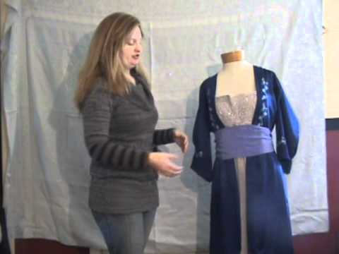 How To Make A Titanic Dress For 20 Or Less Youtube