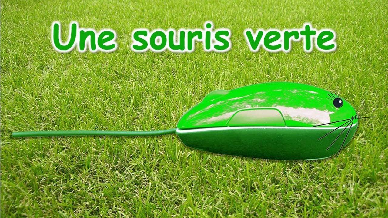 Versini une souris verte yourkidtv youtube - Une souris verte singe ...