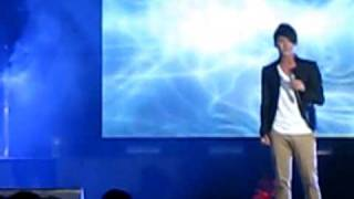 [fancam] Greatest Love of All - Junsu's solo @ Junho's showcase, Singapore