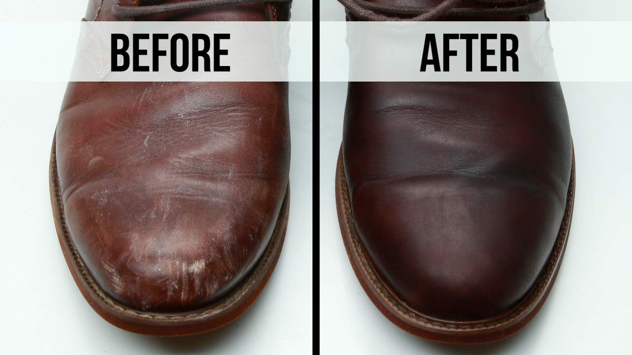 Homemade Shoe Polish Leather