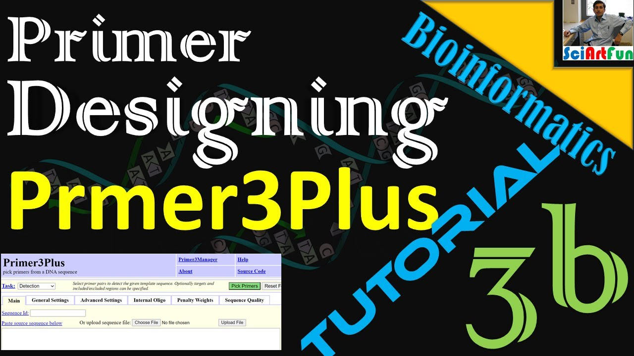 Primer Designing Using Primer3Plus