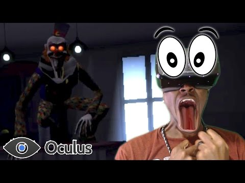VR SCARIEST CLOWN |  Play With Me Oculus Rift REACTION