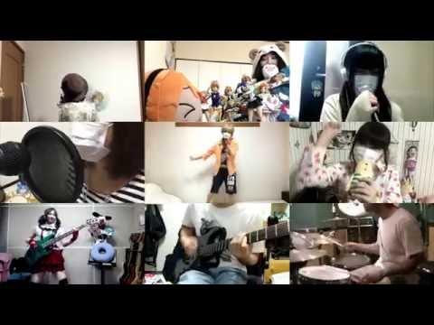 [HD]Love Live! Sunshine!! OP [Aozora Jumping Heart] Band cover