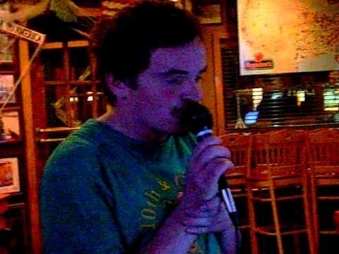 Brisco Disco singing The Beach Boy's kokomo at Applebee's in Wyomissing Tuesday Oct 25 2011