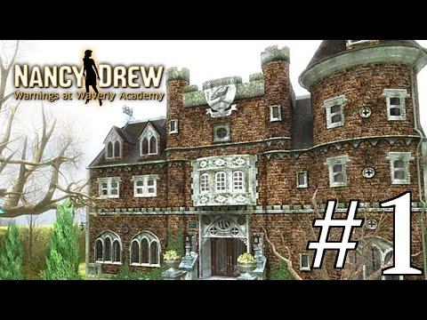 Nancy Drew: Warnings at Waverly Academy Walkthrough part 1