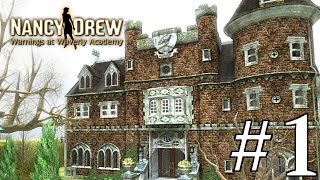 Nancy Drew: Warnings at Waverly Academy Walkthrough part 1