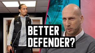Van Dijk or Stam - who39s a better defender Stam answers  Astro SuperSport