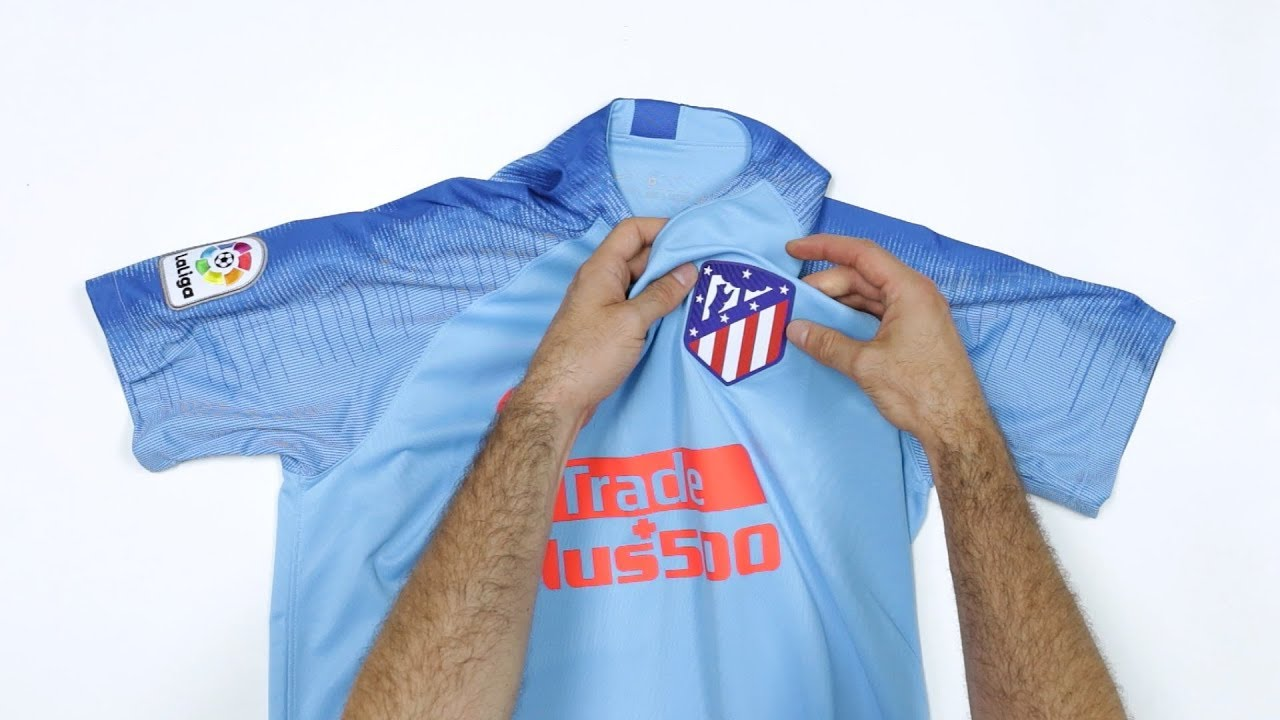 UNBOXING  La nueva camiseta Atlético de Madrid temporada 2018 2019 AWAY -  Sentimiento Sin Rival f3009f4164393