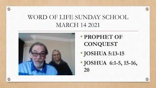 Sunday School 3/14/21