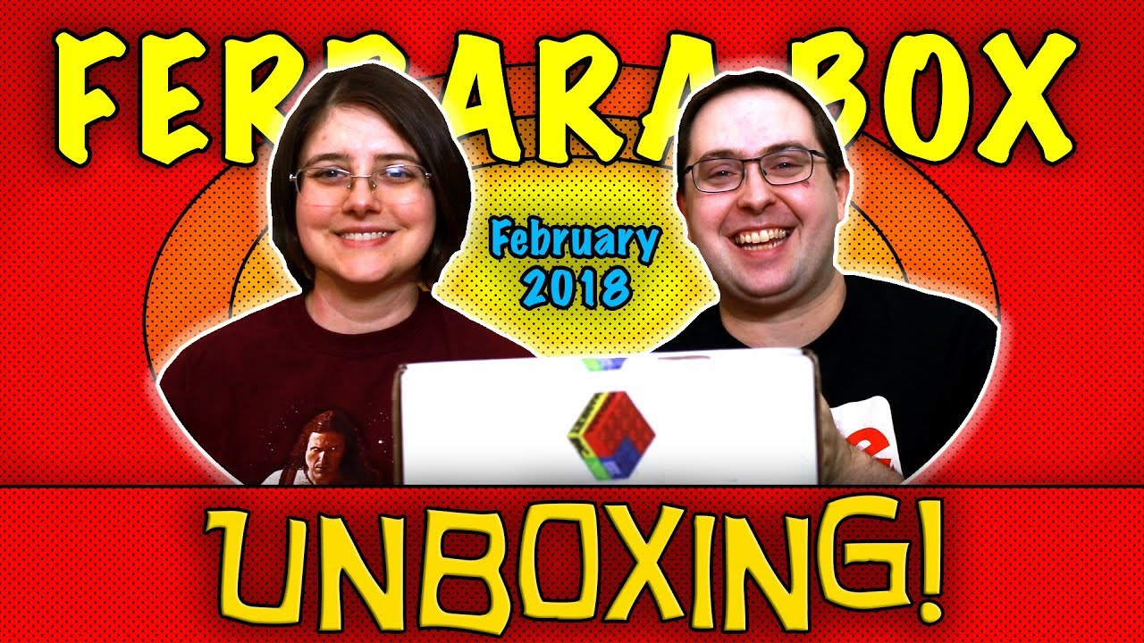 UNBOXING! Ferrara Box February 2018 - Television - #StrangerThings #GameOfThrones
