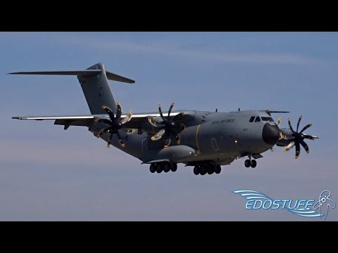Royal Air Force - Airbus A400M Atlas ZM400 - First ever Landing at Split Airport LDSP/SPU