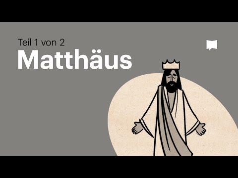 Matthäus Teil 1