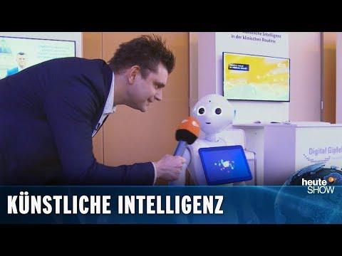 Müssen wir Angst vor Robotern haben? Lutz van der Horst  heute-show vom 07122018
